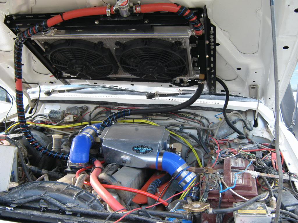 front mount intercooler cooking my engine [Archive] - NissanPatrol