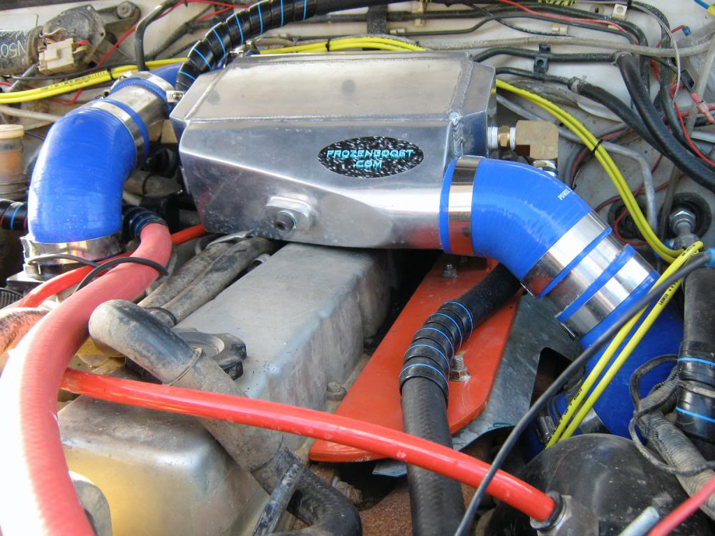 front mount intercooler cooking my engine [Archive