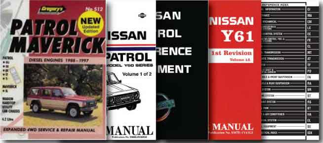 Nissan Patrol Manuals
