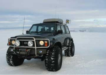 Modified Nissan Patrol Wagon